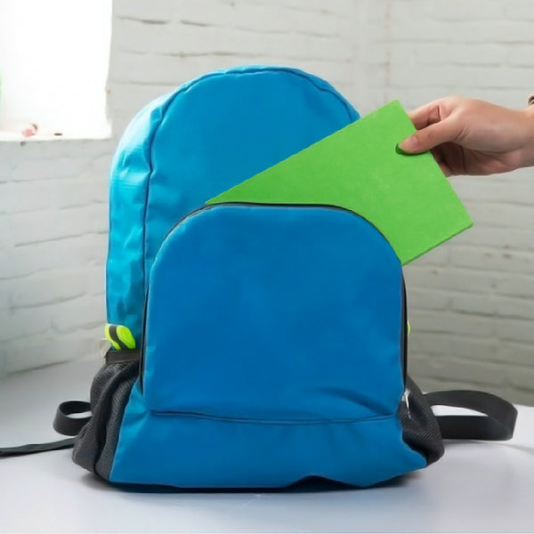 Foldable Backpack - BLUE-Fashion-PropShop24.com