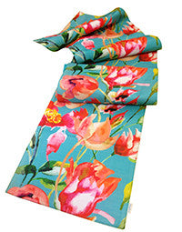 Table Runner - Floral - Vintage Blue Bloom-DINING + KITCHEN-PropShop24.com
