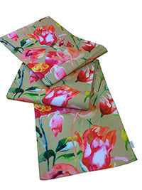 Table Runner - Floral - Muddy Bloom-DINING + KITCHEN-PropShop24.com
