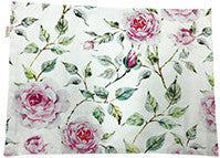 Placemats - Floral - White Pink - Set Of 6-DINING + KITCHEN-PropShop24.com