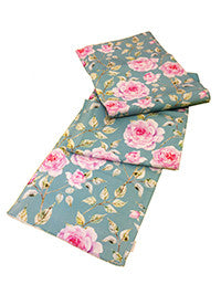 Table Runner - Floral - Turquoise Bloom-DINING + KITCHEN-PropShop24.com