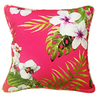 Cushion Cover - Floral - Baby Pink-HOME ACCESSORIES-PropShop24.com