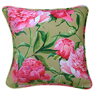 Cushion Cover - floral - muddy pink bloom-Home-PropShop24.com
