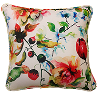 Cushion Cover - floral - white bloom-Home-PropShop24.com