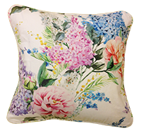 Cushion Cover - Floral - Vintage White Bloom-HOME ACCESSORIES-PropShop24.com