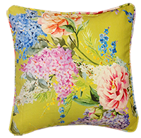 Cushion Cover - Floral - Minty Bloom-HOME ACCESSORIES-PropShop24.com