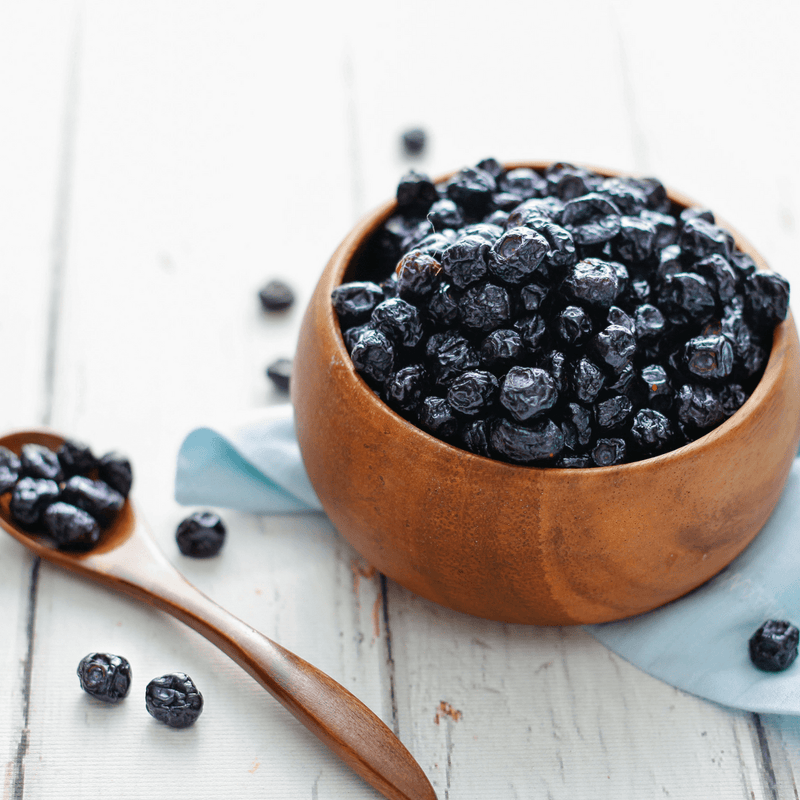 Dried Blueberries - 60 Gm-SNACK + HEALTHY TREATS-PropShop24.com
