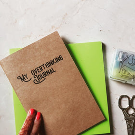 Notebook - Overthinking Journal-STATIONERY-PropShop24.com