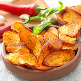Sweet Potato Chips - Peri-Peri-FOOD-PropShop24.com