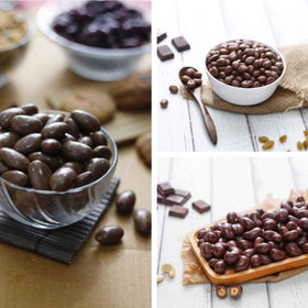 Chocolate Nuts Box - Almonds and Cashews-FOOD-PropShop24.com