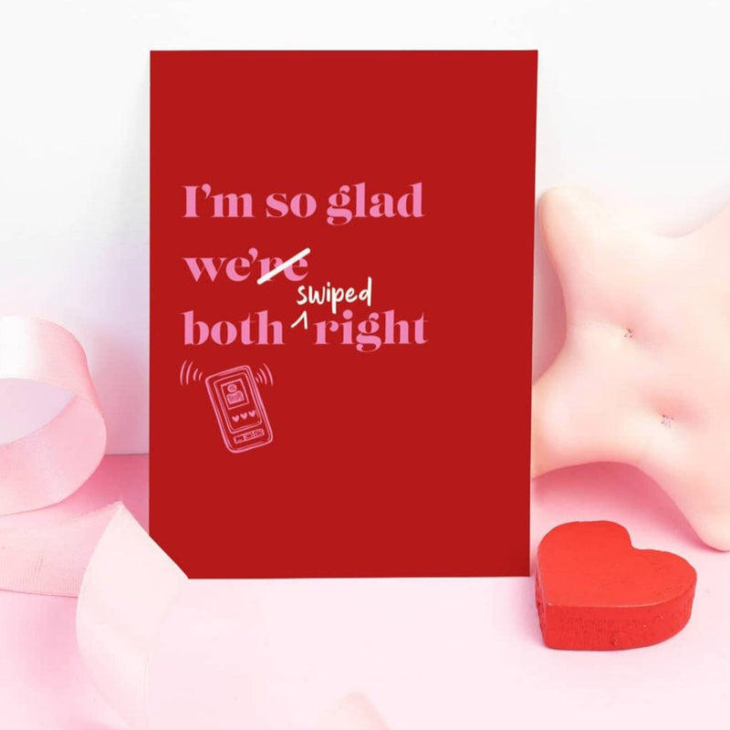 Greeting Card - Swiped Right-GREETING CARDS-PropShop24.com