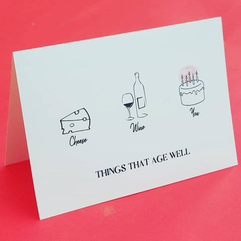 Age Well Birthday- Card-GREETING CARDS-PropShop24.com