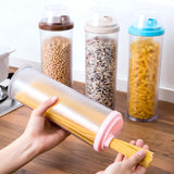 Food Storage Canister For Rice & Pasta (Assorted Lid)-HOME-PropShop24.com