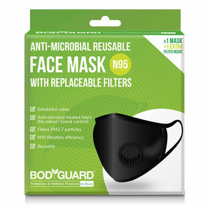 Face Mask - N95 And Anti Pollution Mask With Replaceable Filter-PropShop24.com