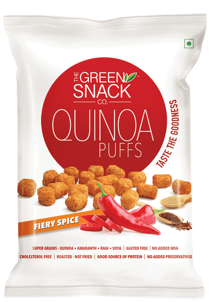 Fiery Spicy Quinoa Puffs-FOOD-PropShop24.com