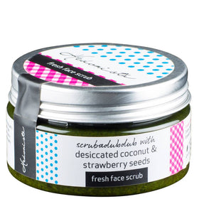 Fresh Face Scrub- With Dessicated Coconut & Strawberry Seeds-Beauty-PropShop24.com