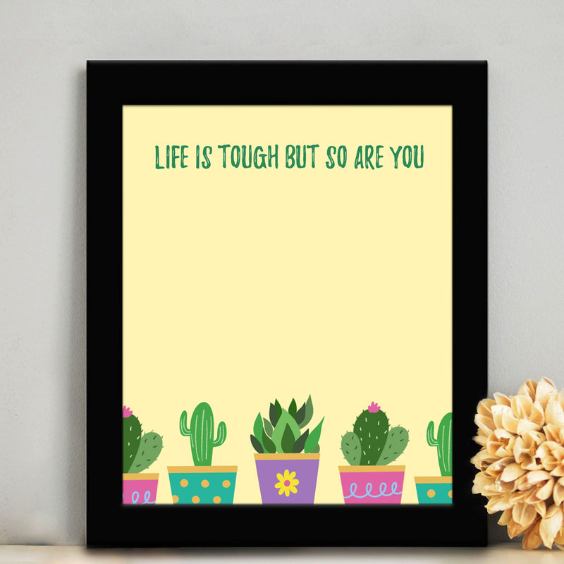 Frame - Cactus Quote-HOME ACCESSORIES-PropShop24.com