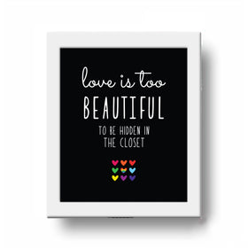 Frame - Love Is Beautiful-HOME-PropShop24.com