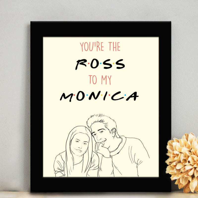 Frame - Ross And Monica-HOME ACCESSORIES-PropShop24.com