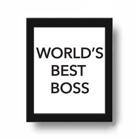 Frame - Worlds Best Boss-HOME-PropShop24.com