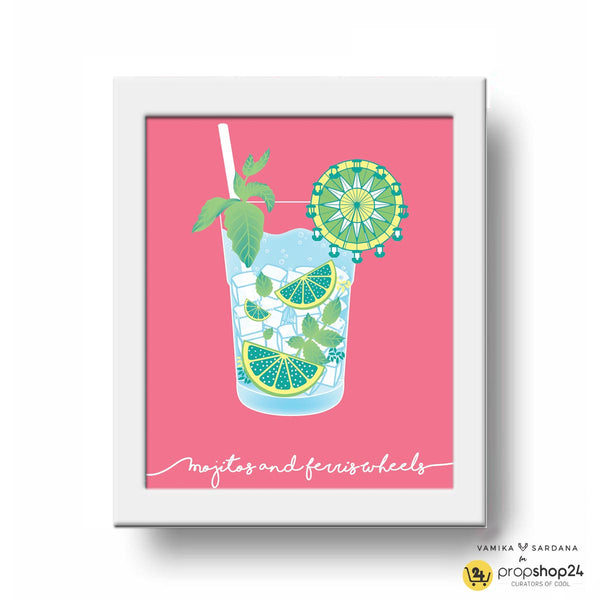 Frame - Mojitos + Ferris Wheels-Home-PropShop24.com