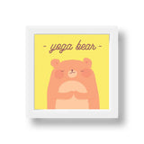 Frame - Yoga Bear-Home-PropShop24.com