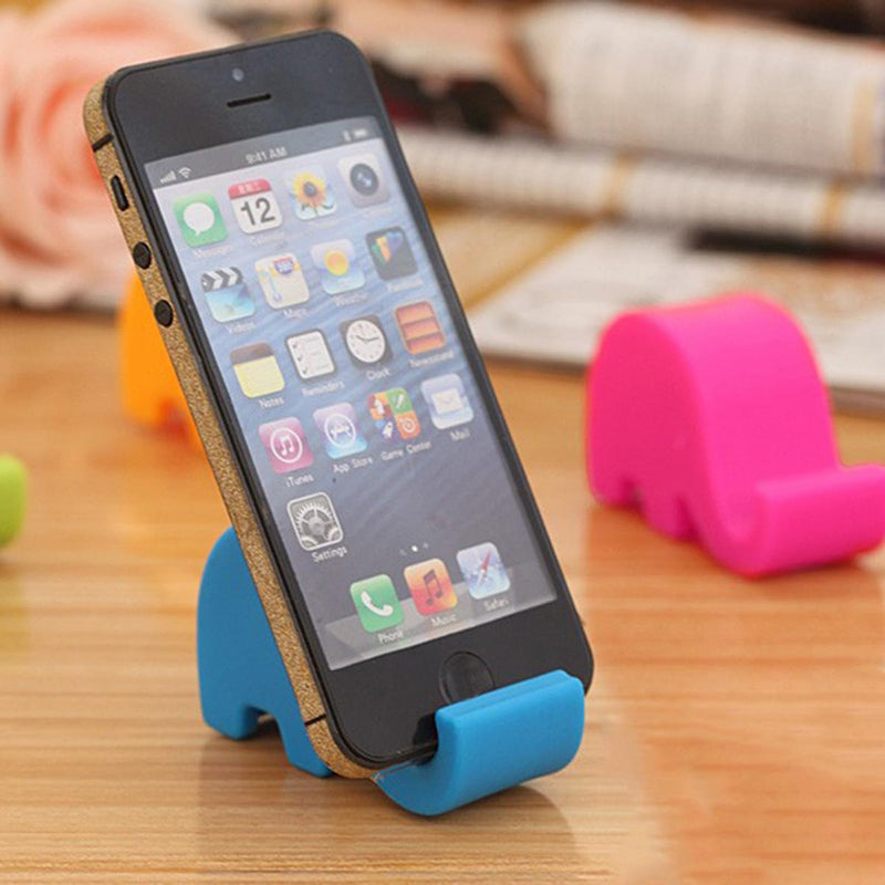 Mini Elephant Phone Tablet Holder Desk Stand-GADGET ACCESSORIES-PropShop24.com