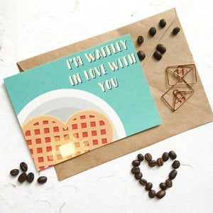 Waffley Greeting Card-GREETING CARDS-PropShop24.com