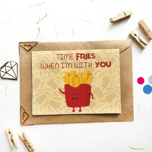 Greeting Card Fries-GREETING CARDS-PropShop24.com