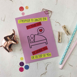 Greeting Card - By Your Side-GREETING CARDS-PropShop24.com