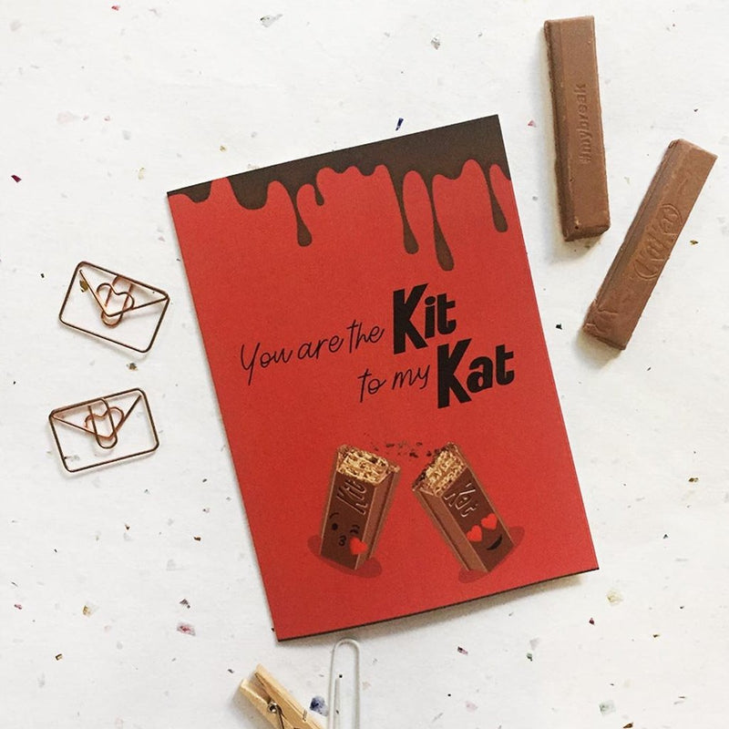 Greeting Card - Kit Kat-GREETING CARDS-PropShop24.com
