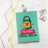 Greeting Card - Favourite Person-STATIONERY-PropShop24.com
