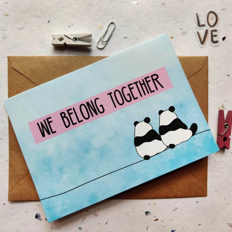 Greeting Card - Belong Together-GREETING CARDS-PropShop24.com