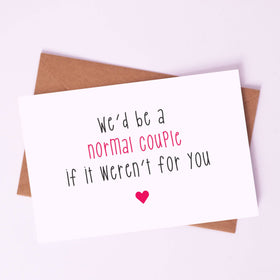 Greeting Card - Normal Couple-STATIONERY-PropShop24.com