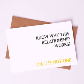 Greeting Card - I'm the HOT one!-STATIONERY-PropShop24.com
