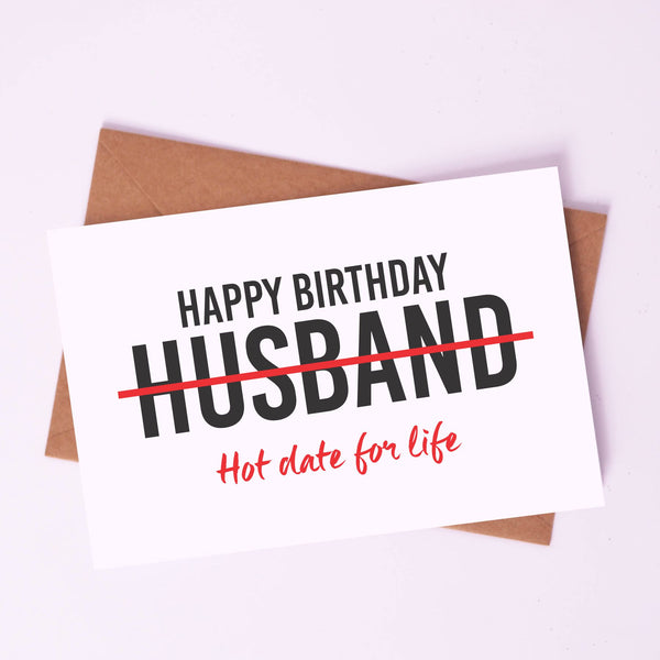 Greeting Card - Happy Birthday Husband!-STATIONERY-PropShop24.com