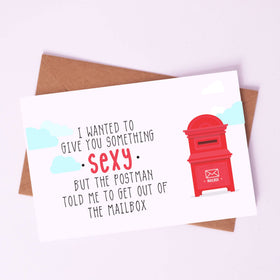 Greeting Card - Sexy mail box-STATIONERY-PropShop24.com