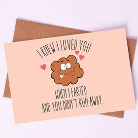 Greeting Card - Couple that Farts together, Stays Together-STATIONERY-PropShop24.com
