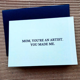 Greeting Card - Mom Artist-STATIONERY-PropShop24.com