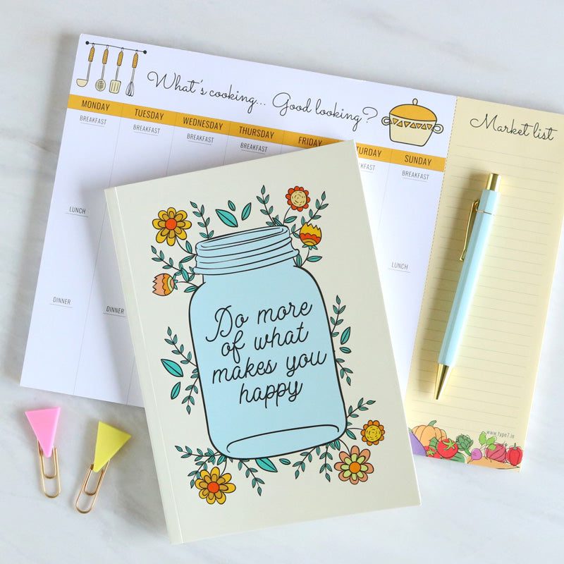 Meal Planner - Collection - Do More-NOTEBOOKS + PLANNERS-PropShop24.com