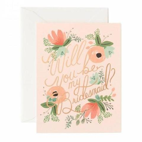 Cards - blushing bridesmaids-STATIONERY-PropShop24.com