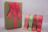 Ribbon - Gold Foiled - Mint-Stationery-PropShop24.com