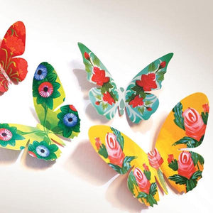 Set Of 24 Decorative Paper Butterflies-DESK ACCESSORIES-PropShop24.com