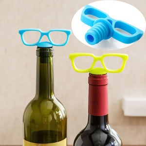 Wine Stopper - Glasses - Assorted-BAR + PARTY-PropShop24.com