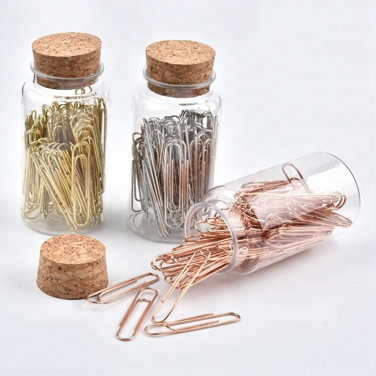 Paper Pins In A Jar - Metal-PENS + PENCILS + PAPER CLIPS-PropShop24.com