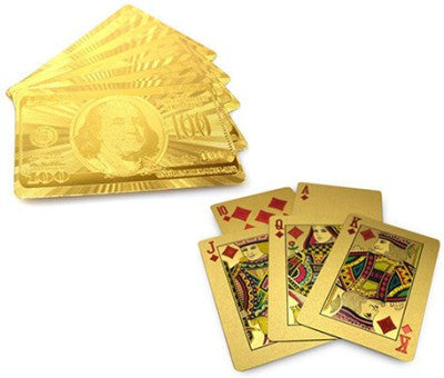 Gold Playing Cards-Home-PropShop24.com