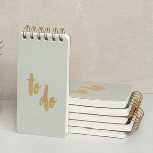 To Do Notepad - Grey-NOTEBOOKS + PLANNERS-PropShop24.com
