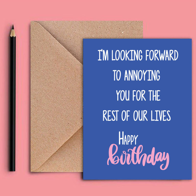 Greeting Card - Birthday Annoying-GREETING CARDS-PropShop24.com