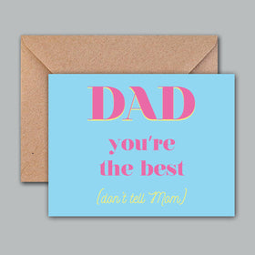 Greeting Card - Dads Best-STATIONERY-PropShop24.com
