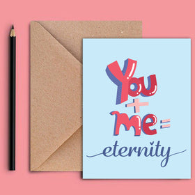 Greeting Card - Eternity-STATIONERY-PropShop24.com